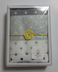 5本梅結び|タオルのギフト用和風ラッピング飾り