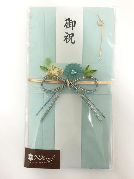 水引リボン結びのオリジナル祝儀袋 プレゼントラッピング