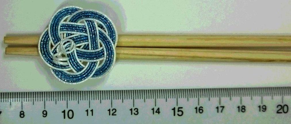 箸止め兼箸置き 水引梅結び製