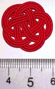 水引3本梅結び 直径23mm