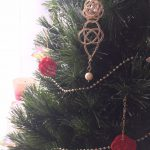 クリスマスツリーに水引き