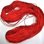 ゴム紐150メートル 赤色