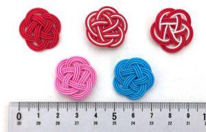 水引3本梅結び 赤、赤白赤、赤赤白、ブルー、ピンク