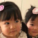 髪飾りの写真 子供モデル