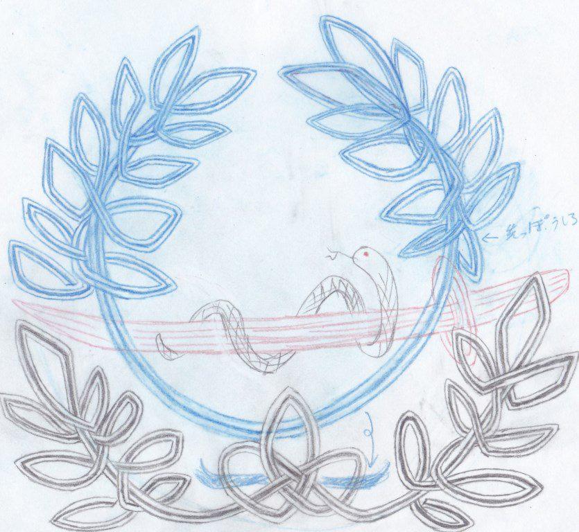 オリジナルご祝儀袋 ラフイメージ